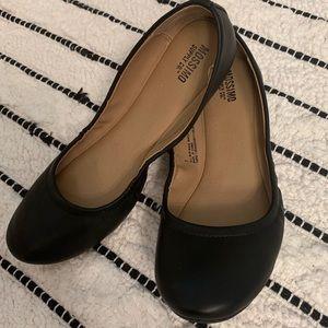 🖤 Mossimo Black Ballet Flats -super comfy! Size 7